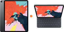 Apple iPad Pro (2018) 12,9 inch 256 GB Wifi Space Gray + Apple Smart Keyboard Folio QWERTY