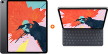 Apple iPad Pro (2018) 11 inch 256 GB Wifi Space Gray + Apple Smart Keyboard Folio QWERTY