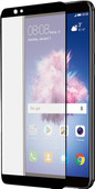 Azuri Curved Tempered Glass Huawei P Smart Screen Protector Glass Black