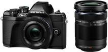 Olympus OM-D E-M10 Mark III Body Black + 14-42mm EZ Black + 40-150mm Black