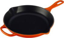 Le Creuset Round Skillet Frying pan 23 cm Orange-red