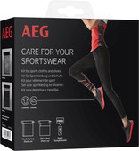 AEG Sports Care set for gym clothes and sports shoes