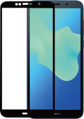 Azuri Huawei Y5 (2018) Screenprotector Gehard Glas Zwart