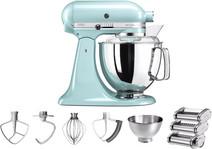 KitchenAid Artisan Mixer 5KSM175PS Ice Blue + Pastarola set
