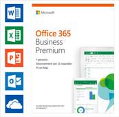 Microsoft Office 365 Zakelijk Premium 1 jaar Abonnement EN