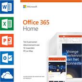 Microsoft Office 365 Home Abonnement 1 jaar EN