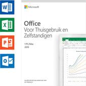 Microsoft Office 2019 Thuisgebruik en Zelfstandigen NL