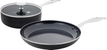 GreenPan Brussels ceramic skillet 24 cm and frying pan 28 cm