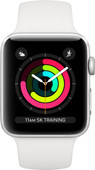 Apple Watch Series 3 38mm Silver Aluminum/White