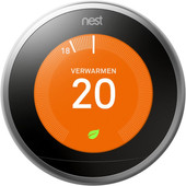 Google Nest Learning Thermostat (3e generatie) met Installatie