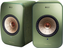 KEF LSX wireless stereo system Green