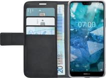 Azuri Wallet Magnet Nokia 7.1 Book Case Black