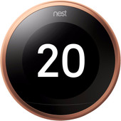 Google Nest Learning Thermostat V3 Premium Copper with installation