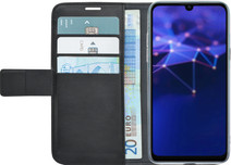 Azuri Wallet Magneet Huawei P Smart (2019) Book Case Zwart