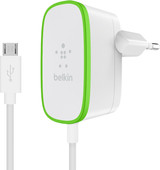 Belkin Home Charger 12W + fixed Micro-Usb Cable White 1.2m