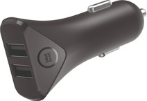 BlueBuilt 4,8A Car Charger 2 USB Black