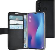 Azuri Wallet magneet Huawei P30 Lite Book Case Zwart