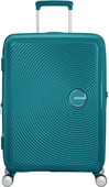 American Tourister Soundbox Expandable Spinner 67cm Jade Green