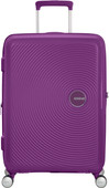 American Tourister Soundbox Expandable Spinner 67cm Purple Orchid