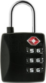Veripart TSA combination lock 3 digit black