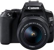 Canon EOS 250D Zwart + 18-55mm f/3.5-5.6 DC III + Tas + 16GB geheugenkaart + doekje