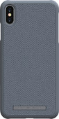 Nordic Elements Idun Apple iPhone Xs Max Back Cover Light Gray