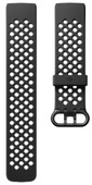 Fitbit Charge 3 Sportband Silicone Black L