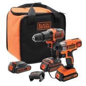 Black & Decker BCK21S2S-QW Combiset
