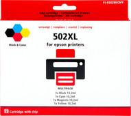 Pixeljet 502XL 4-Kleuren Pack voor Epson printers (C13T02V64