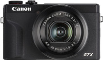 Canon PowerShot G7 X Mark III Zwart
