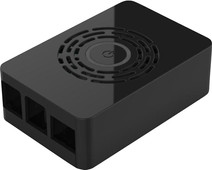 Multicomp Pro Raspberry Pi 4 behuizing - Power knop - Zwart