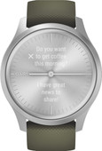 Garmin Vivomove Style - Silver/Green - 42mm
