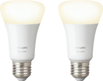 Philips Hue White E27 Bluetooth Duo Pack