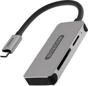 Sitecom USB-C Mini Card Reader - SD, MicroSD