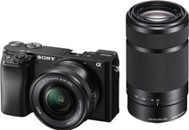 Sony Alpha A6100 + 16-50 mm f / 3.5-5.6 OSS + 55-210 mm f / 4.5-6.3 OSS