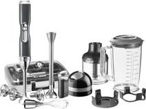 KitchenAid Artisan Draadloze Staafmixer met accessoires Tingrijs