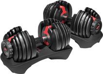 Bowflex SelectTech 552i Verstelbare dumbbells - 2 tot 24 kg