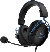 HyperX Cloud Alpha S Pro Gaming Headset Zwart/Blauw