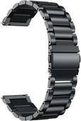 Just in Case Samsung Galaxy Watch Active2 RVS Bandje Zwart
