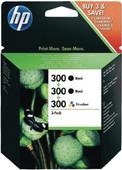 HP 300 Combo Pack 4-Kleuren (SD518AE)
