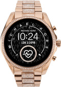 Michael Kors Access Bradshaw Gen 5 MKT5089 - Rose Gold with Diamonds