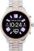Michael Kors Access Lexington Gen 5 MKT5081 - Zilver/Rosé Goud met diamantjes
