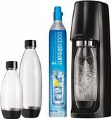 SodaStream Spirit Zwart + 3 flessen