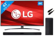 LG 43UM7400 + Soundbar