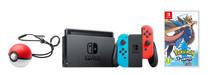 Nintendo Switch Rood/Blauw Pokémon Sword Bundel
