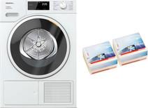 Miele TSF 643 WP EcoSpeed + Geurflacons Aqua Duo Pack