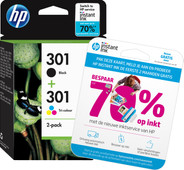 HP 301 Ink Cartridge Combo-pack (N9J72AE)