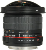 Samyang EF-S 8mm f/3.5 Fisheye MC CSII Canon