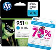 HP 951XL Officejet Ink Cartridge Cyaan (CN046AE)