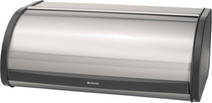 Brabantia Bread bin with sliding lid Mat Steel / Black